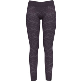 Odlo Suw Natural + Kinship Warm Bottom Pants Damen vintage violet melange
